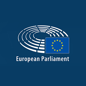 Europos parlamentas logo